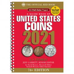 The Official Red Book: A Guide Book of United States Coins 2021