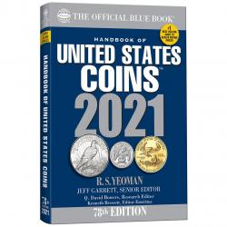 The Official Blue Book: A Guide Book of United States Coins 2021